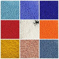 CHOOSE COLOR! 20g (3300pcs) 12/0 Seed Beads Rocailles Preciosa Czech Glass
