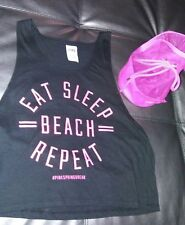 Victoria's Secret Tank Top Size XS with Bonus Travel Bag from PINK Collection