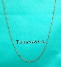 """Tiffany & Co. 18K Rose Gold  16"""" Chain Necklace"""