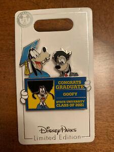 Disney Parks Graduation Day 2021 Goofy Max Pin