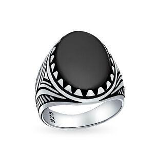 Mens Brown Tiger Eye Oval Cabochon Gemstone Claw Ring Solid 925 Silver