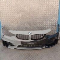 BMW 3 4 Series F80 M3 F82 M4 Front Bumper Complete Trim Panel Black Sapphire