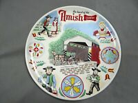 Amish Country (the heart of the)  - Decorative Collector Plate - vintage