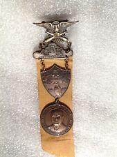 1937 MADISON WISCONSIN GAR CIVIL WAR VETERAN NATIONAL REP REUNION MEDAL & RIBBON