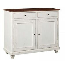 BUFFET BIANCO SHABBY CHIC COUNTRY PROVENZALE VINTAGE LEGNO Credenze Mobili