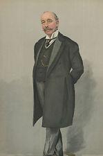 Prince's cicerone Sir Walter Roper Lawrence Vanity Fair Spy lithograph 1905