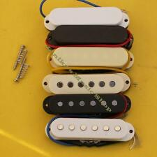 White Pickup Covers 52//50//48 spacing x3 Knobs /& Tips for Fender Stratocaster