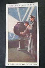 Anti Aircraft Corps   World War 1  Original  Card   VGC