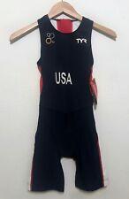 NEW TYR USA Womens Tri Suit Triathlon Wetsuit Size XS - $120