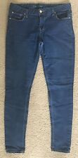 Womens Primark Super Skinny Blue Jeans Size 12