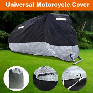 Universal Waterproof Motorcycle Motorbike Scooter Moped Cover Heavy Duty ZMBS2