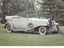 Postcard Cadillac V-16 1932 Auto 100 Mint