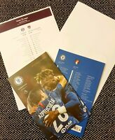 Chelsea v Bournemouth 14/12/19 Programme with teamsheet! FREE POSTAGE WITHIN UK!