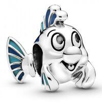 Disney The Little Mermaid Flounder Fabius PANDORA Charm-Anhänger 798230ENMX