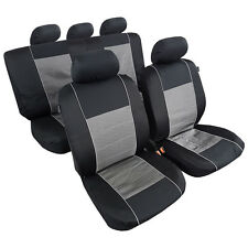 New 11PCS Combo Car Seat Covers Jacquard w/t Polyester Universal Size