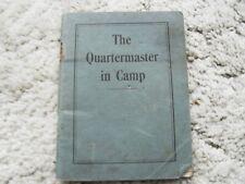 More details for the quartermaster in camp miss barbara gardner the hon. rosalind gibbs may 1939