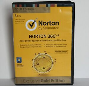Norton by Symantec 360 v6 Exclusive Gold Edition 2012 Windows 7 for PC