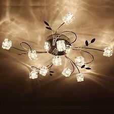 NEW Modern LED Ceiling Lamp Crystal Chandelier Pendant Light Fixture Flush Mount