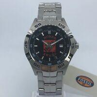 NEW! Fossil Homer Award Home Depot Stainless Steel Watch 40mm NEW BATTERY PR1955