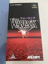 Warlock Famicom SFC Japan Brand New Never Open