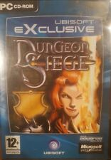 DUNGEON SIEGE PC CD-ROM RARE UBISOFT EXCLUSIVE FANTASY CDROM COMPUTER GAME
