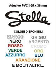 Adesivo Targhetta LML STELLA Star PVC adesivi sticker scudo cofano VESPA SCOOTER