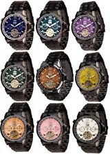 Runde Mechanisch-(Handaufzug) Armbanduhren mit 12-Stunden-Zifferblatt für Damen