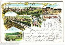 Gruss aus Langerfeld AK 1899 Wuppertal Oehde Litho Nordrhein-Westfalen 1504266*