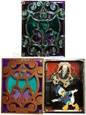 SCARED DONALD In Hinged BOOK HAUNTED MANSION Storybook JUMBO LE 750 Disney PIN