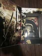 300 MOVIE DVD Limited Edition 2 Disc Exclusive Spartan Helmet and Art NO DVD