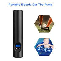 Portable 12V Electric Car Tire Air Pump Compressor 6000mAh For Ball Bike Bicycle