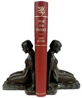 PRIDE AND PREJUDICE novel FIRST EDITION Romance COLOR Love Story vtg JANE AUSTEN