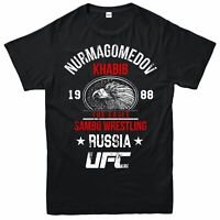 Khabib Nurmagomedov T-shirt THE EAGLE Top MMA UFC Unisex Adult & Kids Tee Top