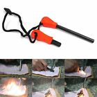 Outdoor Magnesium Flint Striker Stone Fire Steel Starter Lighter Survival Kit