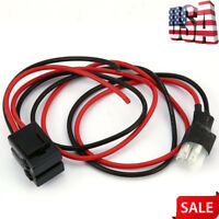 1m 30A Fuse 6 PIN Short Wave Power Cord Cable for Yaesu FT-857D Extension Cord