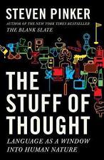 Las cosas de pensamiento: lenguaje como una ventana a la naturaleza humana por Steven Rosado