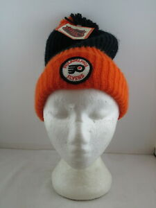 Philadelphia Flyers Toque/Beanie - 1970s Patched Beanie - Adult One Size (NWT)