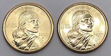 2000 P & D Sacagawea 1$ Dollar - 2 Coin Lot (Z101)