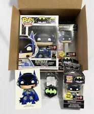 DC GAMER Chase BATMAN Box FUNKO Pop GAMESTOP POP PEZ