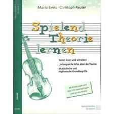 Spielend Theorie lernen - Noten für Violine 2799 - 9783938202715