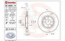 2x BREMBO Bremsscheiben vorne belüftet 266mm für PEUGEOT 206 207 307 09.8695.14