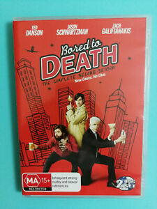 Bored To Death The Complete Second Season DVD 2-Disc Set Ted Danson R4 VGC