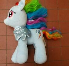 Rainbow Dash My Little Pony Build a Bear Blue Plush BABW 40 cm
