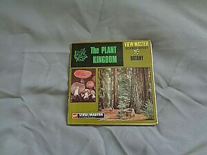 GAF VIEWMASTER PACKET REF B 580 PLANT KINGDOM + BOOKLET TYPE OUTER  AS PHOTOS