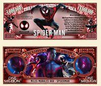 Pack of 50 - Marvel Legends Miles Morales Spider-Man Launch Novelty Dollar Bill