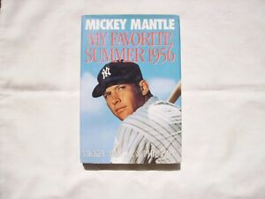 My Favorite Summer Hardcover Book by Mickey Mantle and Phil Pepe