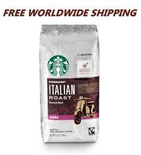 Starbucks Italian Roast Dark Ground Coffee 12 Oz FREE WORLDWIDE SHIPPING