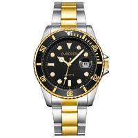 Business Men Automatic quartz Mechanical Stainless Steel Calendar Military Watch