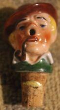 New listing Vintage German Porcelain Bottle Stopper