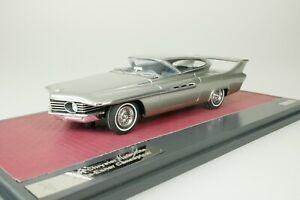 Chrysler Turboflite Ghia-Exner 1961 Silver #014-408 1/43 matrix MX50303-081 New